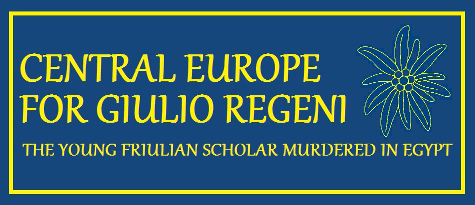 CENTRAL EUROPE FOR GIULIO REGENI