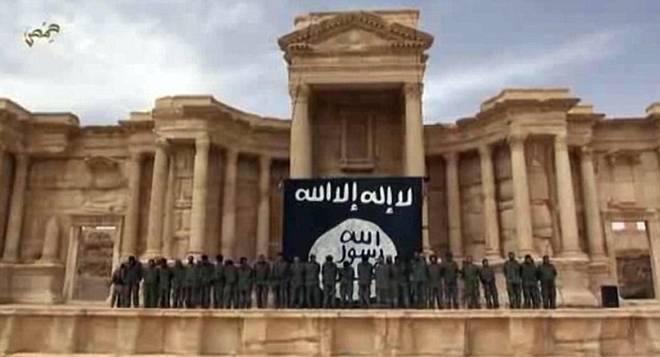 ISIS; Palmira; albanegri