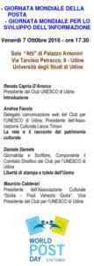 Andrea Fasolo; UNESCO