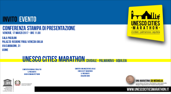 Unesco Cities Marathon; Club per l'UNESCO di Udine
