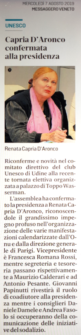 Renata Capria d'Aronco; Maurizio Calderari; Andrea Fasolo
